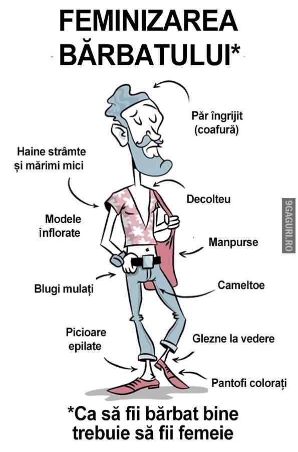 Feminizarea bărbatului   Link Postare ➡ http://9gaguri.ro/media/feminizarea-barbatului