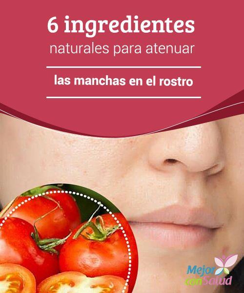 6 ingredientes naturales para atenuar las manchas en el rostro  Lucir una piel suave, sin manchas y con un tono uniforme se ha convertido en un reto para las mujeres debido a los múltiples factores que tienden a alterarla.