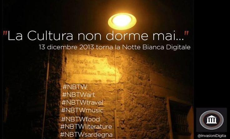 Eventi: il 13 dicembre torna la Notte Bianca di Invasioni Digitali #NBTW