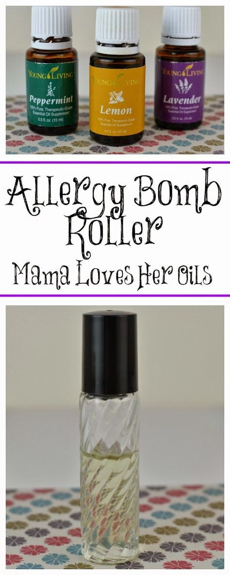 Mama Loves Her Oils!: DIY Young Living Essential Oil Allergy Bomb Roller. Great and natural allergy relief!