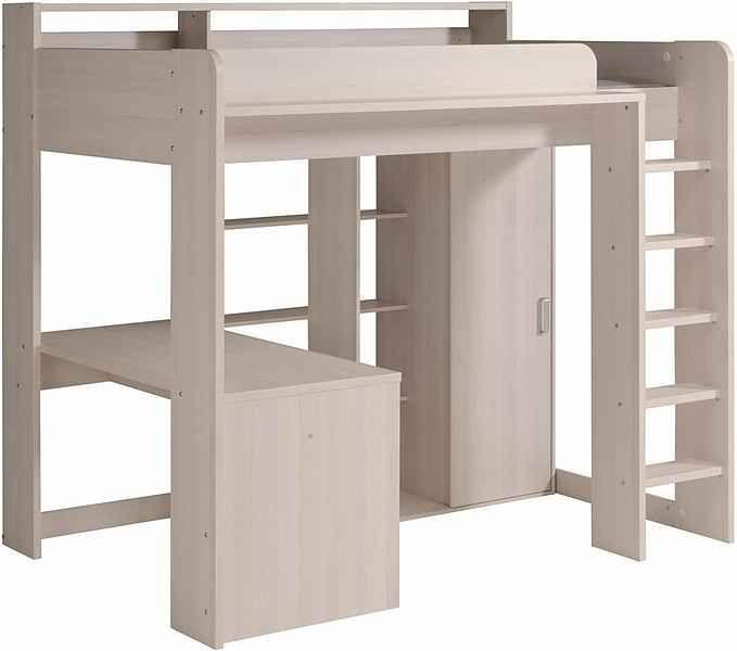 Parisot Hochbett Higher Inkl Schrank Und Schreibtisch Online Kaufen Otto In 2020 Bett Mit Schreibtisch Loft Betten Schreibtisch