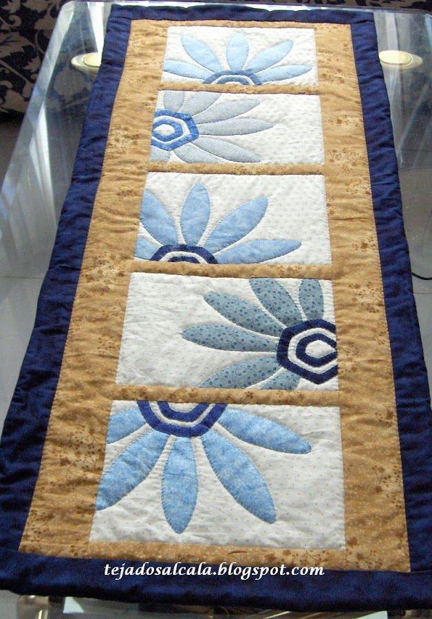 camino de mesa patchwork pa | facilisimo.com                                                                                                                                                     Más