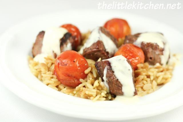 ... Beef Tenderloin Filet Skewers with Dubliner Cheese Sauce Beef Recipe