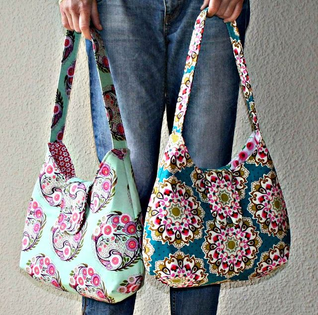 Taschen nähen... free pattern