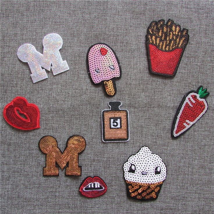 high quality cartoon logo paillette patch hot melt adhesive applique embroidery patch DIY clothing accessory patch C2019-C2029 #>=#>=#>=#>=#> Click on the pin to check out discount price, color, size, shipping, etc. Save and like it!