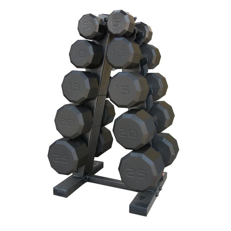 CAP Barbell 150 lb. Eco Dumbbell Set with Rack - SDBS-150