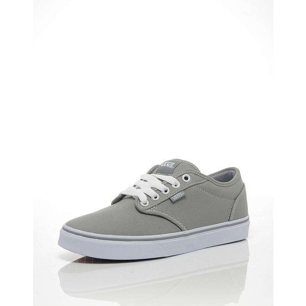 Vans Atwood Trainers (785 ARS) ❤ liked on Polyvore featuring shoes, sneakers, zapatos, vans footwear, flexible shoes, grey sneakers, vans trainers and gray sneakers