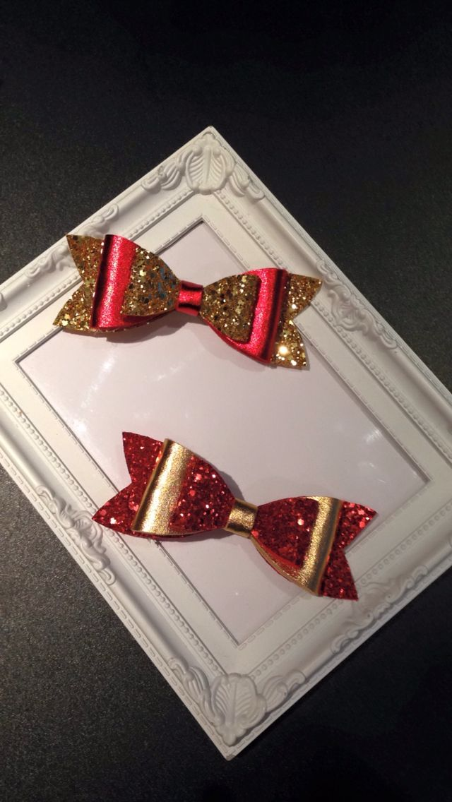 Christmas double bows