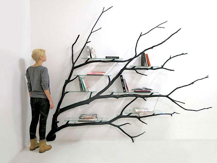 une branche darbre en étagère par Sebastian Errazuriz  2Tout2Rien
