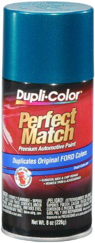 Dupli-Color BFM0328 Cayman Green Metallic Ford Exact-Match Automotive Paint - 8 oz. Aerosol. For product info go to:  https://www.caraccessoriesonlinemarket.com/dupli-color-bfm0328-cayman-green-metallic-ford-exact-match-automotive-paint-8-oz-aerosol/