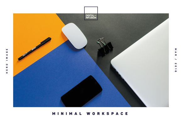 Minimal Workspace by Digital Infusion on @creativework247