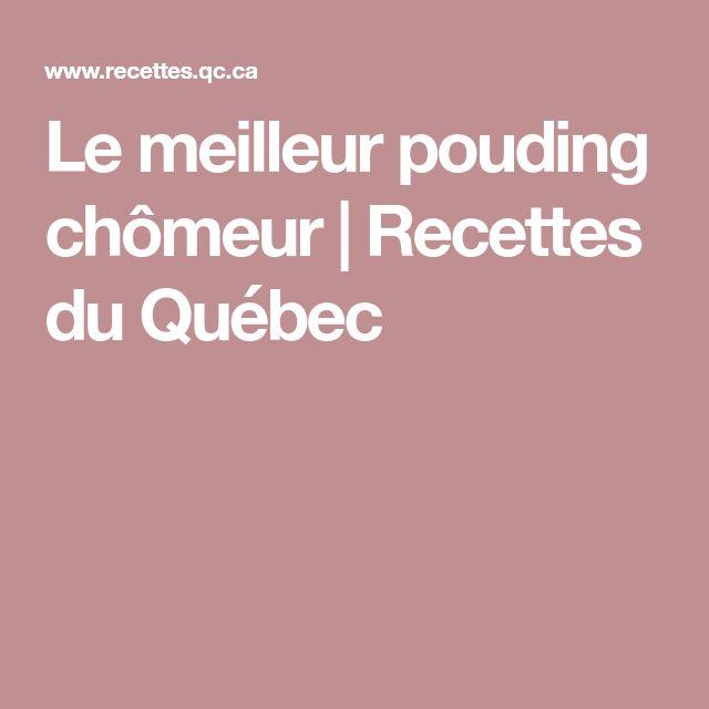 Le meilleur pouding chômeur | Recettes du Québec