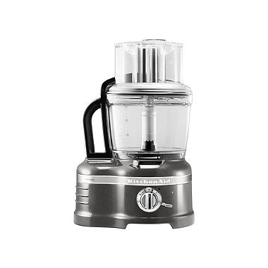 Onyx Black Kitchenaid® Artisan® 4L Food Processor in food processors at Lakeland