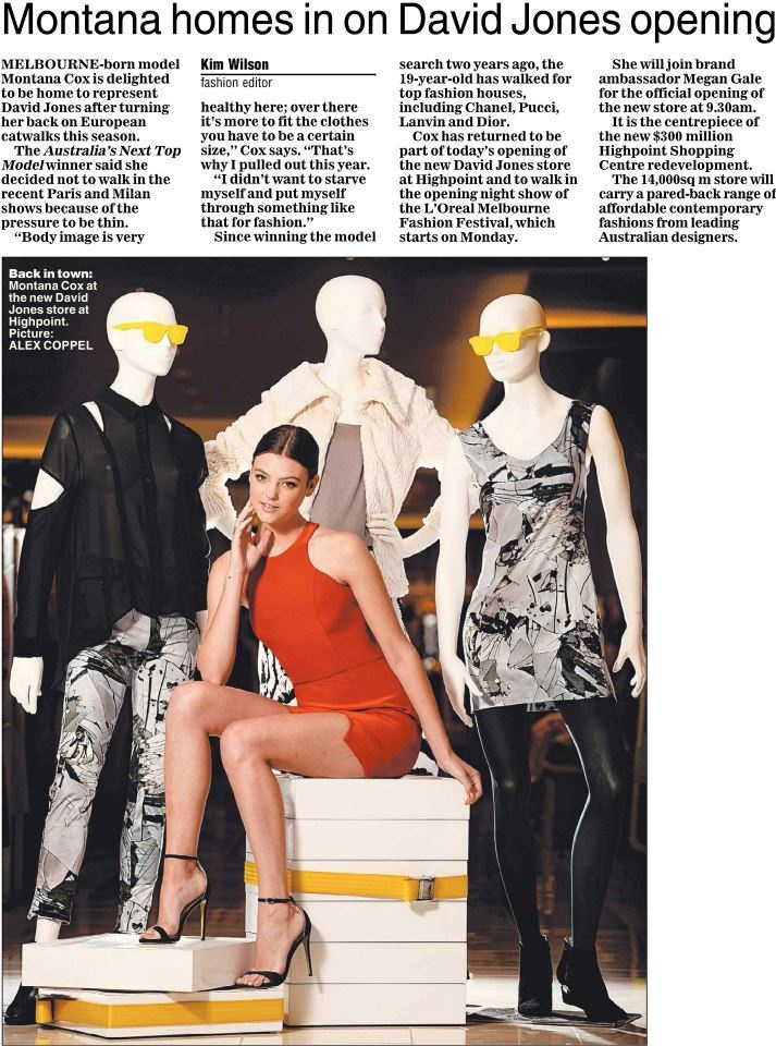 March – Page 9 – Herald Sun Melbourne