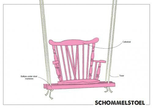 Diy schommelstoel