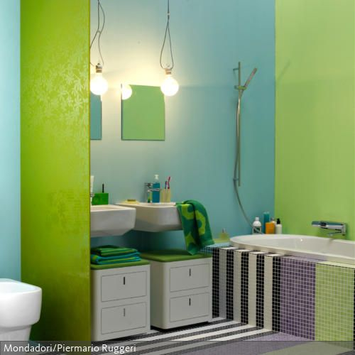 17 Best images about bad Idee on Pinterest Design bathroom - bad blau braun