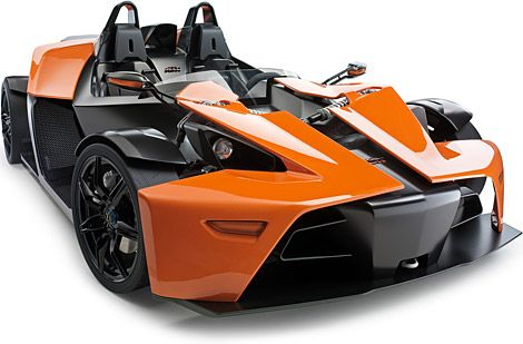 KTM X-Bow...a beautiful car that you can drive once or twice a year and can't start without an instruction manual...but who really cares? lol
