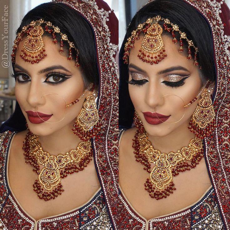 Dressyourface Bollywood MakeupBride MakeupHair MakeupEye MakeupIndian Wedding