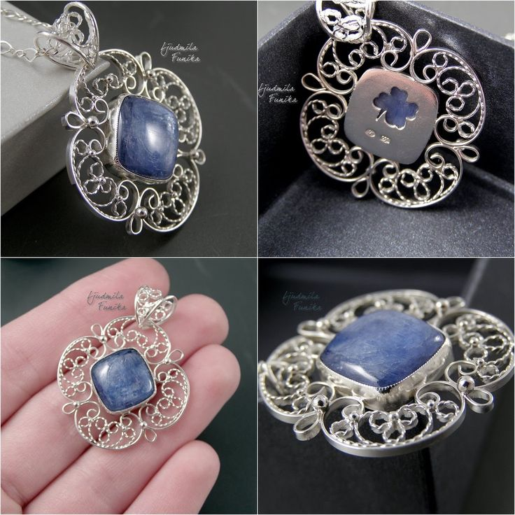 Jewellery Art - Синий Клевер