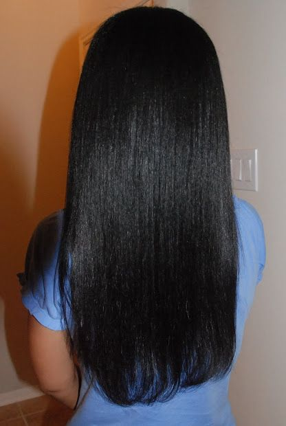 Relaxed Hair Health: Healthy Relaxed Hair Feature: How does she get such perfect hair?