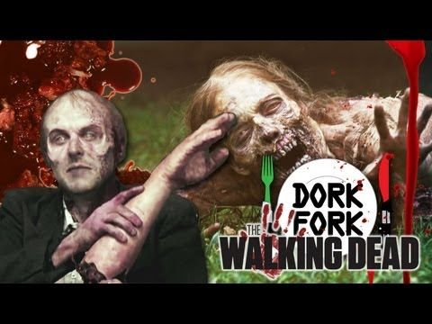 CHRIS HARDWICK slays zombies WALKING DEAD style: DORK FORK