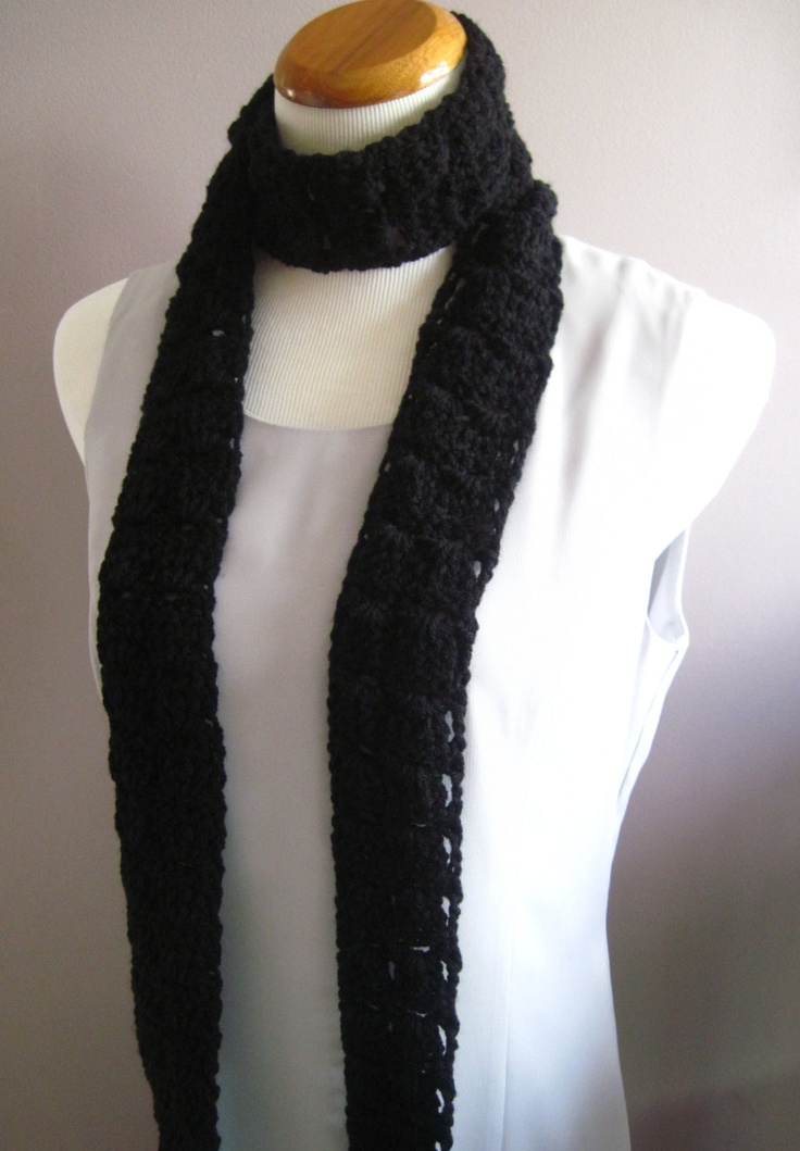 36 best images about Skinny scarves on Pinterest Infinity scarfs, Patterns ...