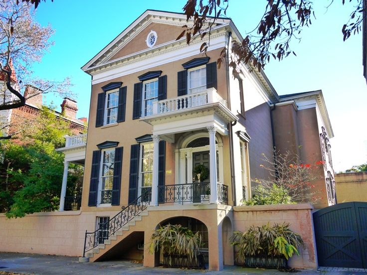 Not All Regency Style Houses Are In England This One Is Savannah Georgia