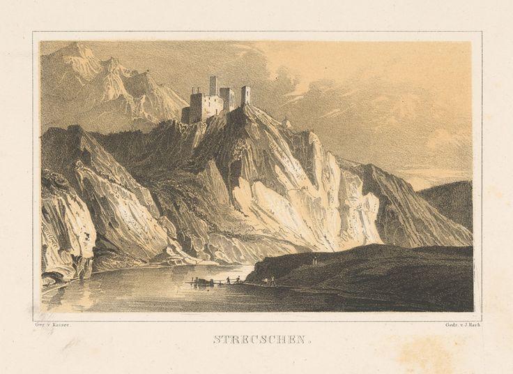 Anton Kaiser, Joseph Fischer, Wilhelm Friedrich Schlotterbeck Strečno, 1844