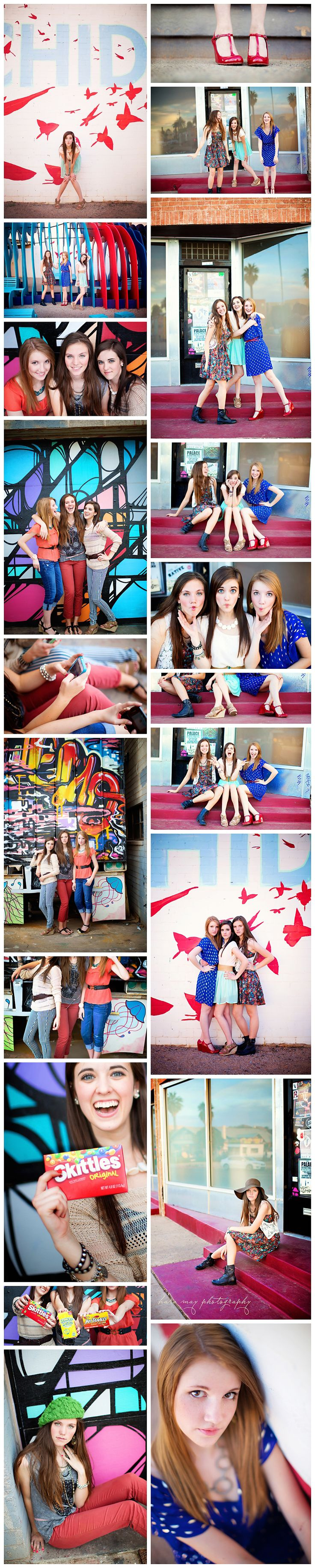 {Urban Session - 'Girls Just Wanna Have Fun'} — Kara May Photography