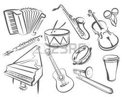 Risultati immagini per disegni di batterie musicali