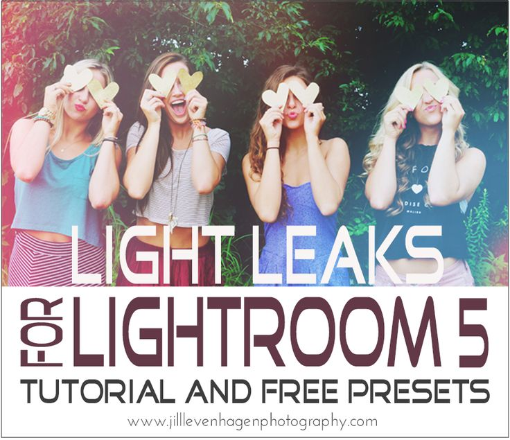 Get a tutorial and FREE Presets to get started adding Light Leaks to your images using Lightroom!  Follow my Boards for Photography Inspiration and more FREEBIES at www.pinterest.com/lrtemplates