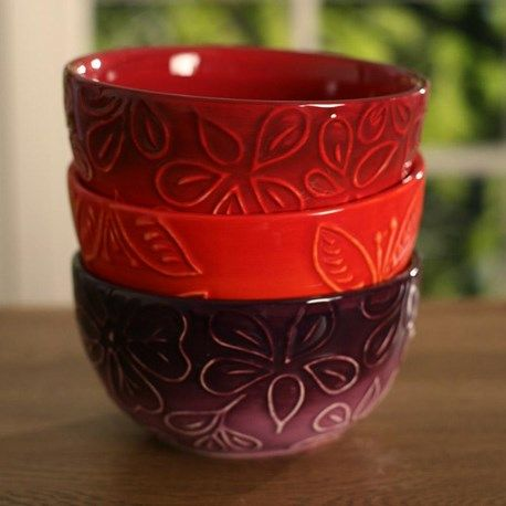 Embossed Bowls