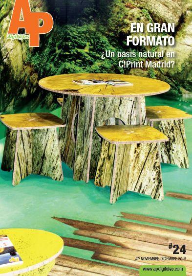 APdigitales #24 con un detalle de nuestro espectacular stand de C!Print Madrid en portada... Puedes ver la revista online en http://www.apdigitales.com/revista-online