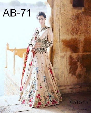 168a9ec898f Buy Astha Bridal AB-71 matsya pitch lahenga Online at Low prices in India on
