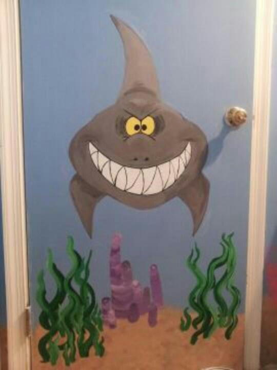 hand painted wall murals murals kids pinterest. Black Bedroom Furniture Sets. Home Design Ideas