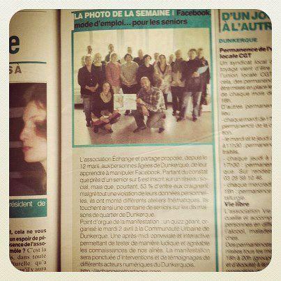 Facebook mode d'emploi on en parle ...  Merci au Le Phare dunkerquois - Le Journal des Flandres #dunkerque #facebook #epdk