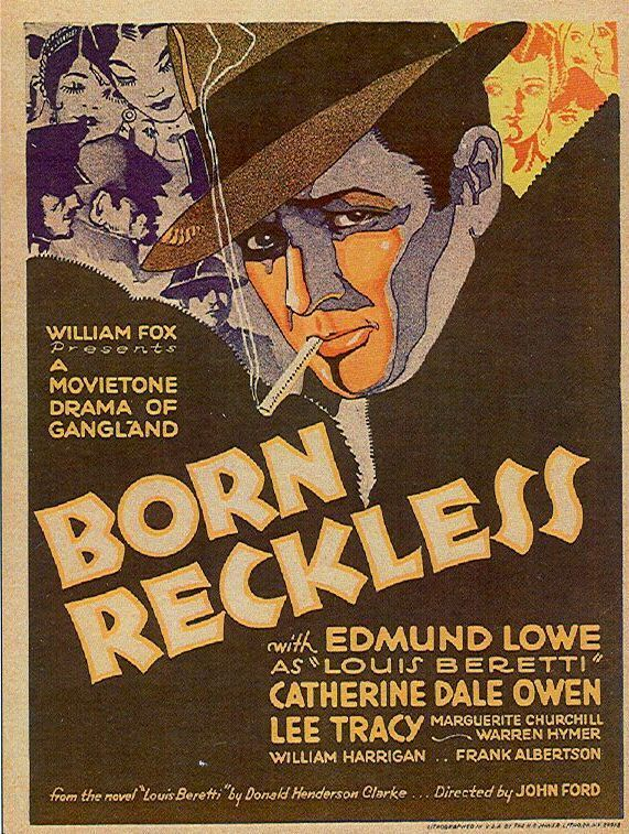 Directed by Andrew Bennison, John Ford.  With Edmund Lowe, Catherine Dale Owen, Frank Albertson, Marguerite Churchill. Hoping to use the publicity to get re-elected, a judge sentences a notorious gangster to fight in the war.
