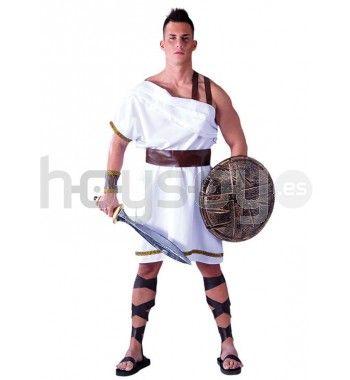 #Disfraz de #espartano que incluye: vestido, cinturón y brazaletes #Disfraces #Carnaval