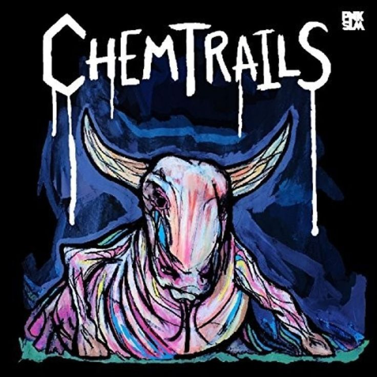 Chemtrails : Calf of the Sacred Cow / Pnk Slm / Alternative/Indie Rock - The noise-pop quintet's full-length debut presents a solid song base under a mix of grimy rock catchy retro-pop and murky lo-fi. - Marcy Donelson #concert #hits #live