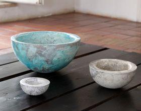 "Bowl Karima Ornamental bowl large in ""malta di Geris"", not suitable for food use and to contain liquids. #madeinitaly #artigianato #ciotola #bowl #complementiarredo #decorativeaccessories"