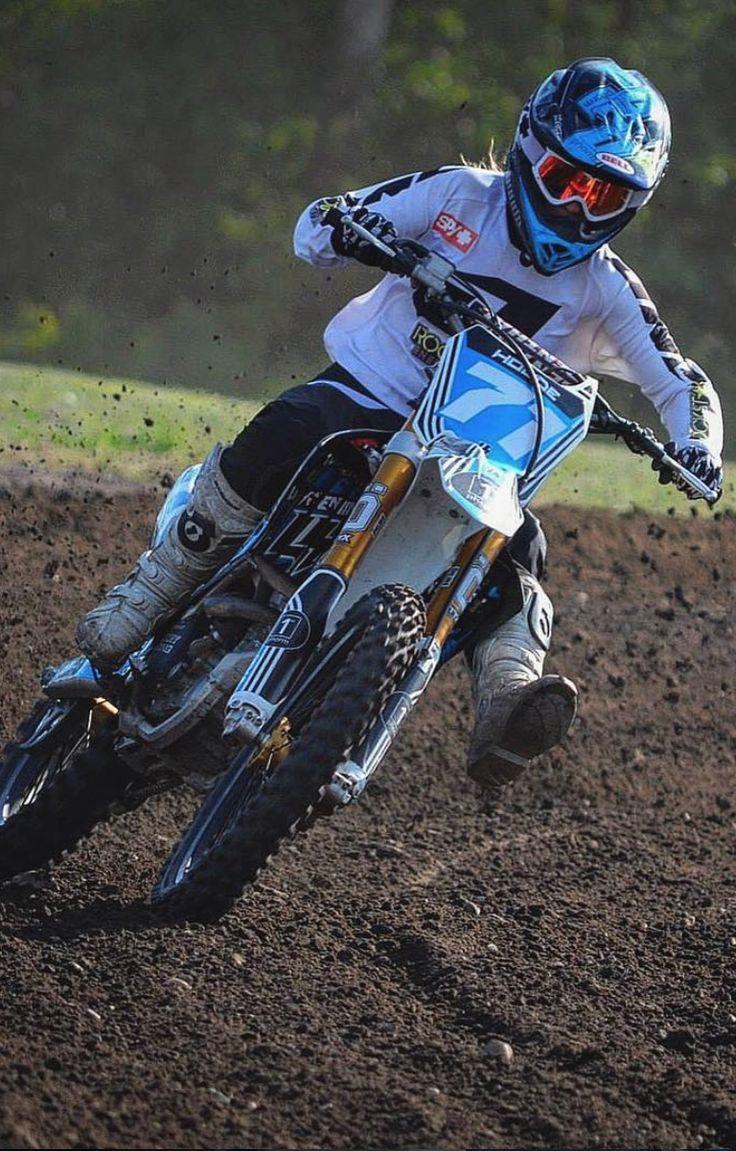 1st Phorm athlete Ami Houde doin her thing!! #motocross Pinterest: pearlxoxoxo