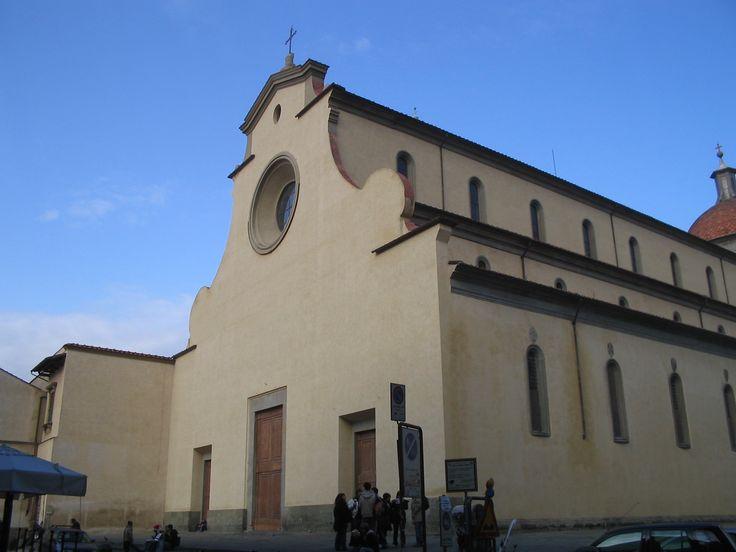 BRUNELLESCHI, Basilica di Santo Spirito (Firenze) 1444-1487