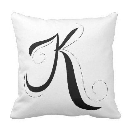 Best 25+ Initial pillow ideas on Pinterest