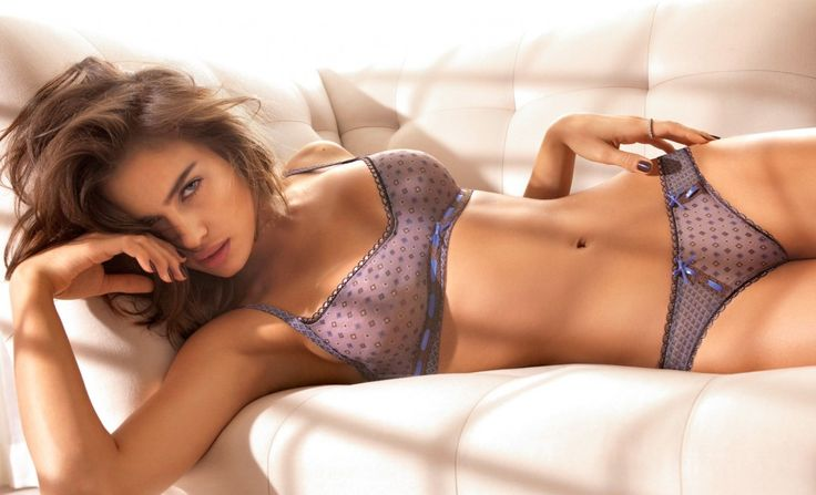 Irina Shayk Hot Girls Lingerie