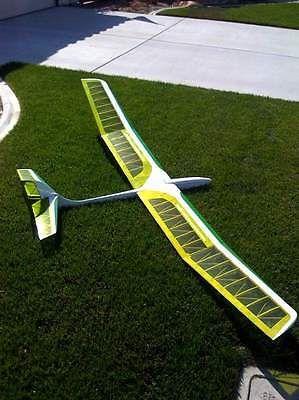 R-c-Planador-SAGITTA-900-Corte-Laser-Kit-Curto-planos-e-instrucoes-99-Em-Wing-span