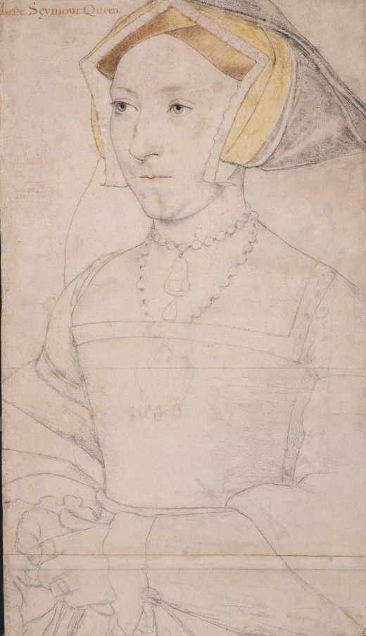 Jane Seymour Queen - Sketches by Hans Holbein the Younger, 1526-1543  (retronaut.co)