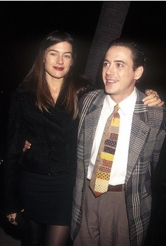Restoration Premiere (2000) Beverly Hills Robert Downey Jr. and Deborah Falconer
