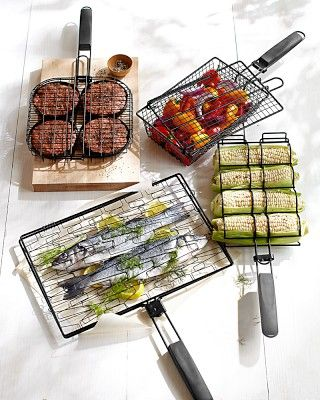 Grilling Baskets, Set of 4 #WilliamsSonoma