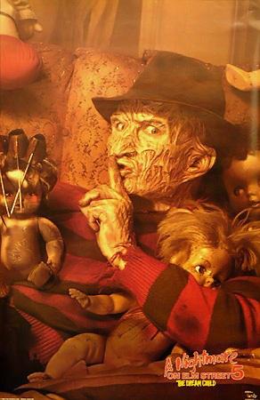 Nightmare On Elm Street Dream Child Rare Vintage Poster