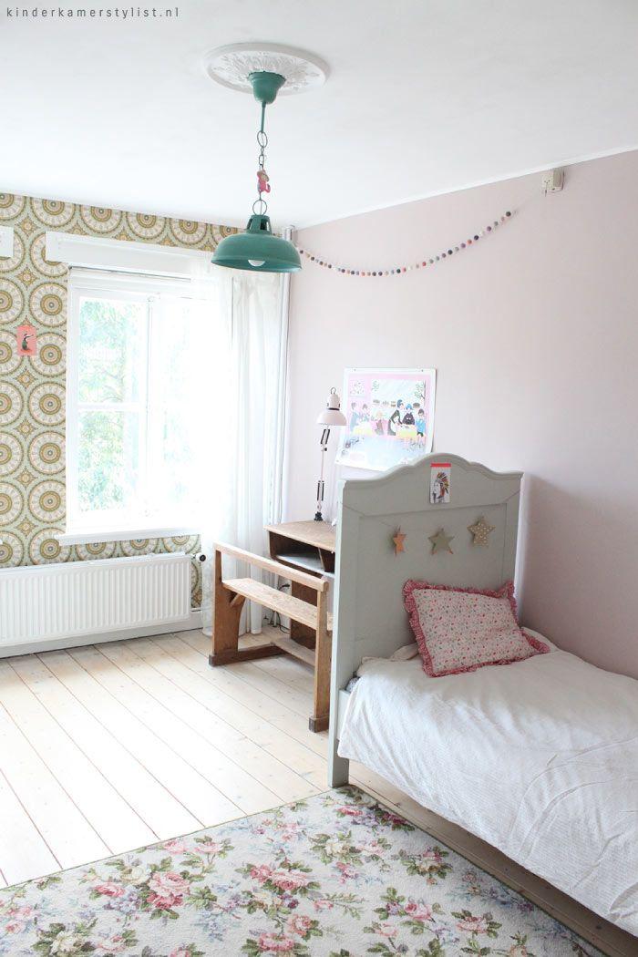25 beste idee n over roze grijze slaapkamers op pinterest roze slaapkamerdecor grijze - Roze meid slaapkamer ...